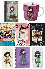Books by Sophia Bennett and Gorjuss Wallet, Mug, Pencil Tins & Notebook Giveaway
