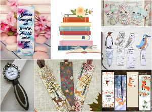 Books of Choice and Bookmarks Giveaway