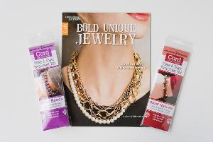 Bracelet Kit and Bold Unique Jewelry Book Set