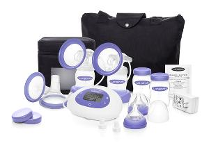 breast pump and supplies
