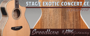 Breedlove Stage Exotic Concert CE Giveaway