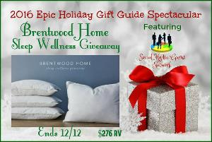 Brentwood Home Sleep Wellness Prize Pack Giveaway
