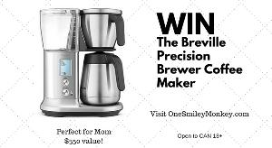 Breville Precision Brewer Coffee Maker Giveaway