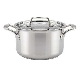 Breville Thermal Pro Clad Covered 4QT Saucepot