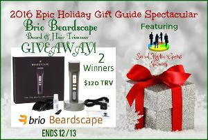 Brio Beardscape Beard & Hair Trimmer Giveaway