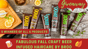 Broo Craft Beer Haircare Products