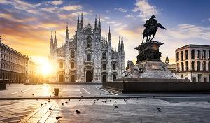 buildings in Milan italy