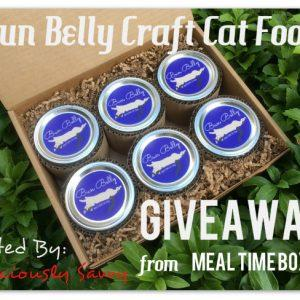 Bun Belly Craft Cat Food Giveaway