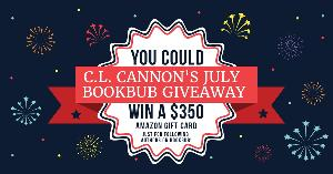 C.L. Cannon's July BookBub Giveaway!