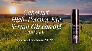 Cabernet High-Potency Eye Serum Giveaway
