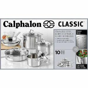 Calphalon Stainless Steel Cookware Set