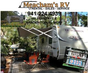 camper rental for up to 7 (seven) nights at Disney's Fort Wilderness Resort and Campground