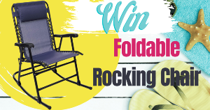 """Camping Foldable Rocking Chair"""""""