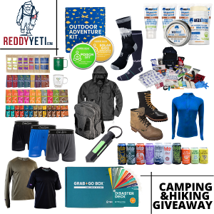 camping prize packages