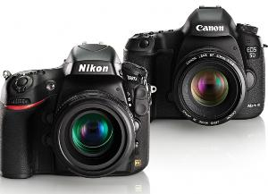 Canon 5D Mark III or Nikon D800