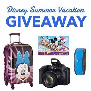 Canon Camera + Minnie Suitcase + MagicBand + Disney Gift Card