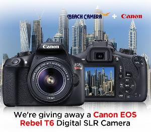 Canon EOS Rebel T6 with lens kit