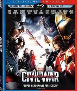 Captain America: Civil War on DVD Giveaway !!!