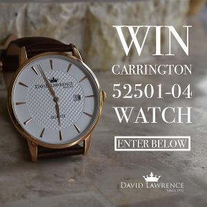 Carrington Watch Giveaway!!!