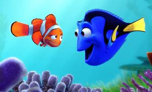 cartoon fish (dory)