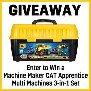 CAT Machine Maker Apprentice Multi Machines Giveaway