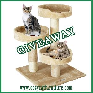 Cat Tree Giveaway ($69.95)