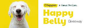 Chippin x Great Pet Care Happy Belly Giveaway