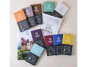 Chocolate gift set from Moka Origins