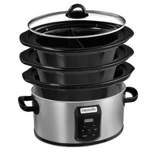 Choose-A-Crock Programmable Slow Cooker (ARV $99.99)