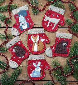 Christmas Critters Ornament Kit Giveaway