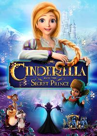 Cinderella and the Secret Prince DVD