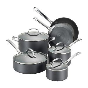 Circulon Genesis Hard-Anodized Nonstick 10-Piece Cookware Set Giveaway ""