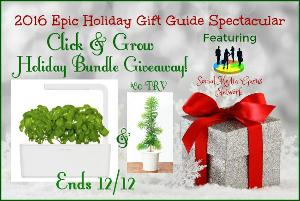 Click & Grow Holiday Bundle Giveaway