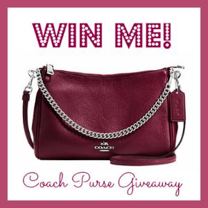 Coach Crossbody Leather Purse Giveaway