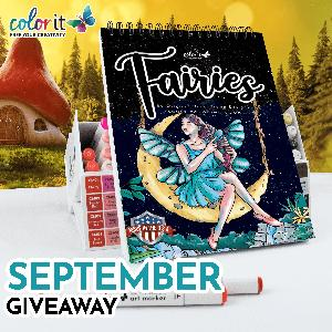 ColorIt's Fairies Coloring Book Giveaway