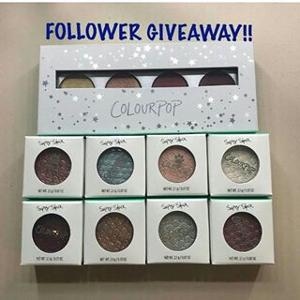 Colour Pop Cosmetics Giveaway