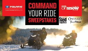 Command Your Ride Sweepstakes