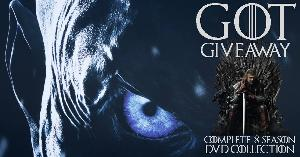 Complete 8 Season Game of Thrones DVD Collection