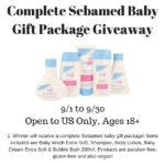Complete Sebamed Baby Gift Package Giveaway