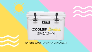 Cooler Smiles Giveaway ~ Win a Yeti Cooler!
