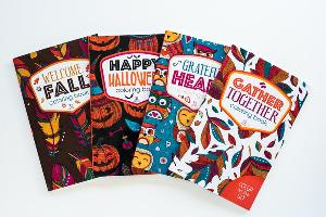 Cozy Fall Adult Coloring Book Giveaway