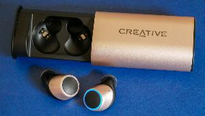 Creative Labs Outlier Gold Earbuds