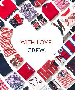 Crew Clothing Company £100 Gift Card Giveaway!
