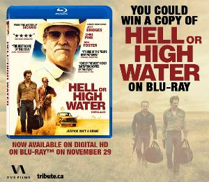 crime thriller Hell or High Water movie cover