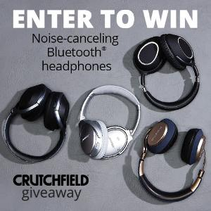 Crutchfield Headphone Great Gear Giveaway