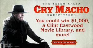 Cry Macho Sweepstakes