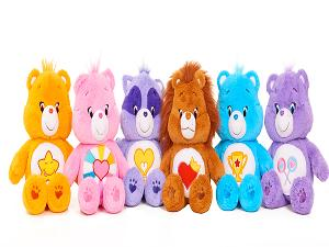 CUDDLY CARE BEARS & COUSINS PLUSH