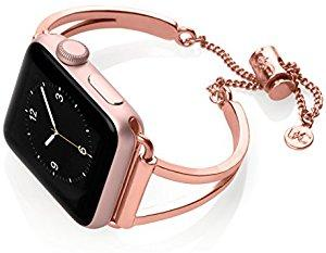 Cuff Mia Apple Watch Band Adjustable Women Rose Gold