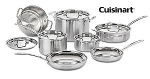 Cuisinart Chef's Classic Stainless 11-Piece Cookware Set
