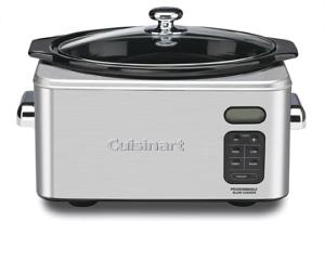 Cuisinart Round Slow Cooker (ARV $185)